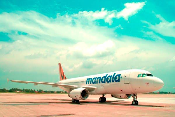 Mandala Airlines Buka Rute Surabaya-Bangkok