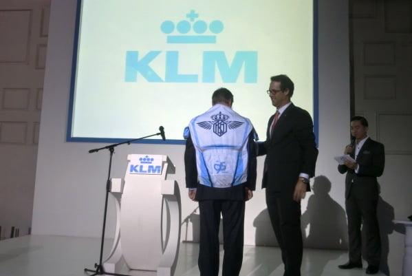 KLM Rayakan 90 Tahun Penerbangannya ke Indonesia