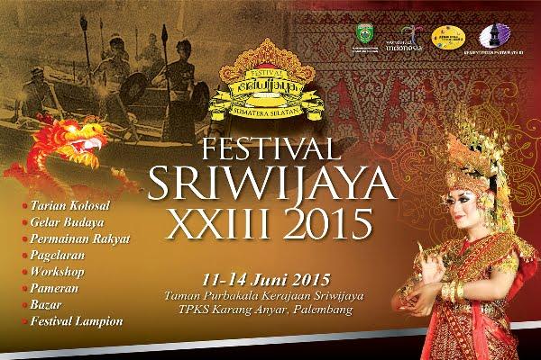 Sumatera Selatan Siap Selenggarakan Festival Sriwijaya ke-23