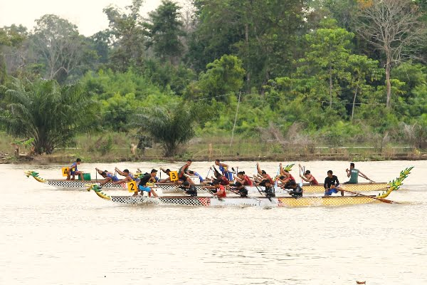 Etape ke-3 Musi Triboatton Berlangsung di Depan Sekayu Waterfront