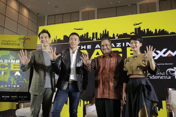 Amazing Race Asia Hadirkan Tantangan di 5 Kota di Indonesia