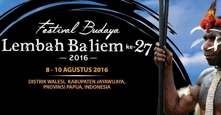 Festival Budaya Lembah Baliem Akan  Digelar Agustus 2016