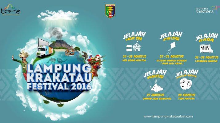 Lampung Akan Gelar Festival Krakatau 2016