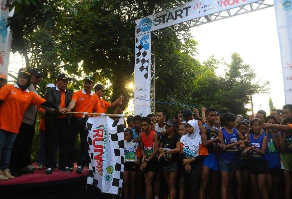 Lamongan Beach Run 2016 Sedot Ribuan Peserta