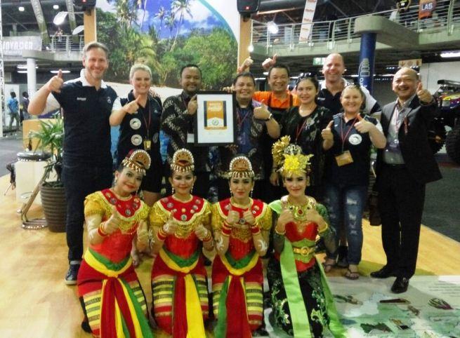 Wonderful Indonesia Rebut 2 Penghargaan di Johannesburg