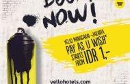 """Promosi """"Pay As You Wish"""" di YELLO Hotel Manggarai"""