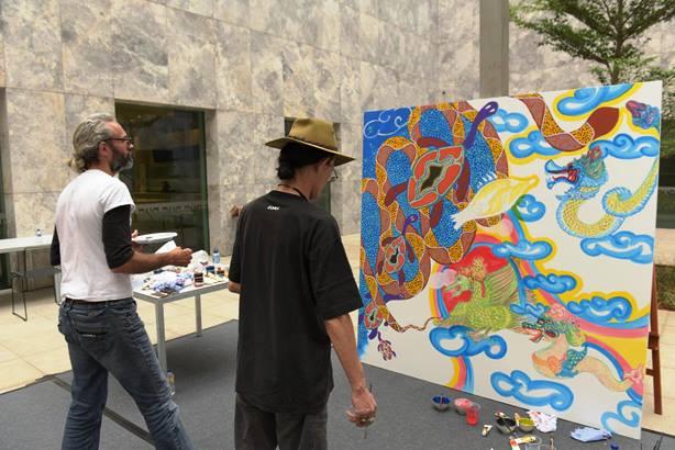 Kedutaan Besar Australia Gelar Pameran Seni Aborigin