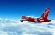 Air Asia Terbang dari Bali ke Kolkata India