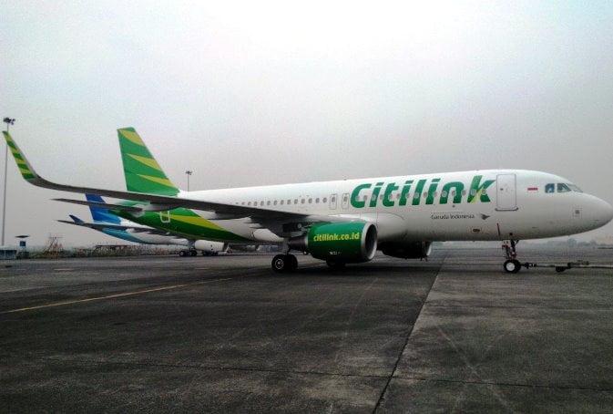 Citilink Terbangi Medan - Yogyakarta