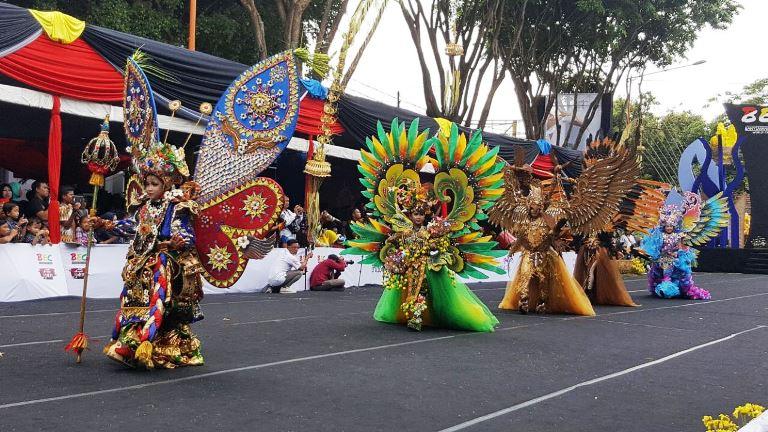 Banyuwangi Etno Carnival 2017 Angkat  Tradisi dan Budaya Lokal