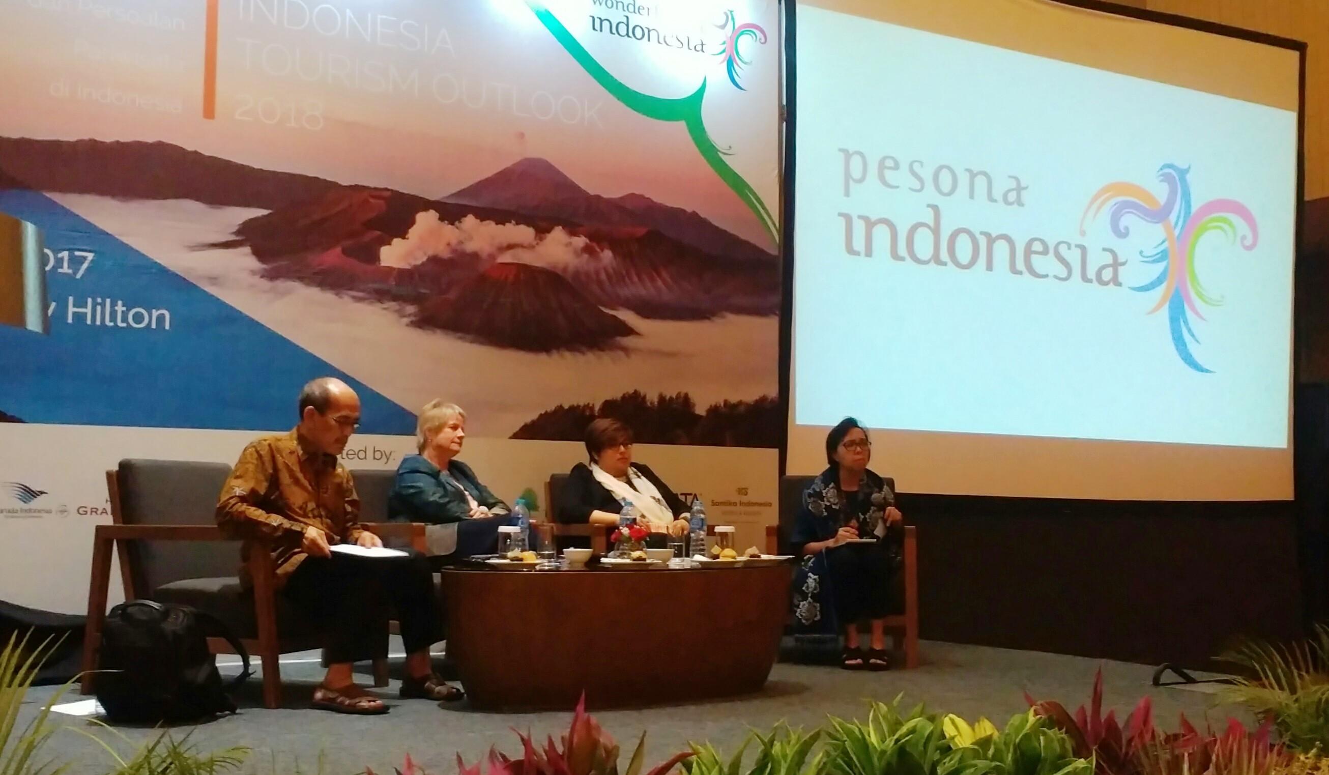 Indonesia Tourism Outlook 2018, Melihat Prospek dan Tantangan Pariwisata 2018
