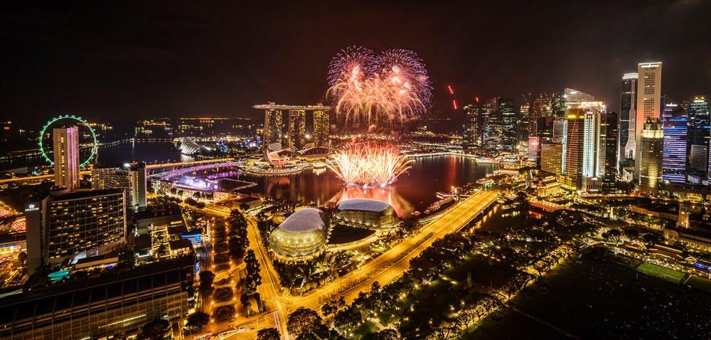 Semarak Akhir Tahun di Singapura