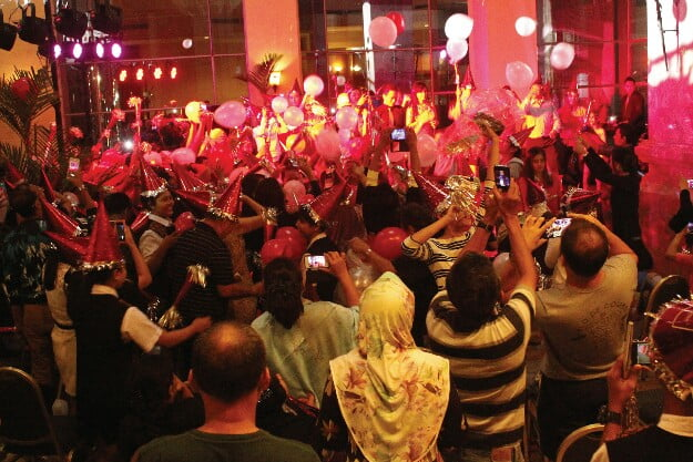 Downtown Countdown' Sensasi Beda Malam Tahun Baru