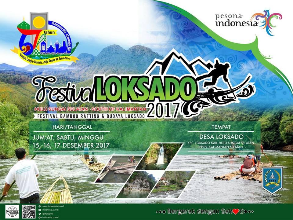 Kabupaten Hulu Sungai Selatan Gelar Festival Loksado