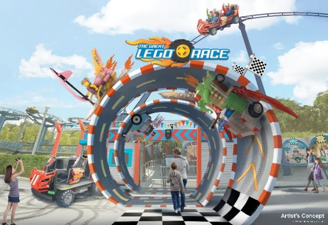 LEGOLAND Resmi Luncurkan Virtual Reality Roller Coaster