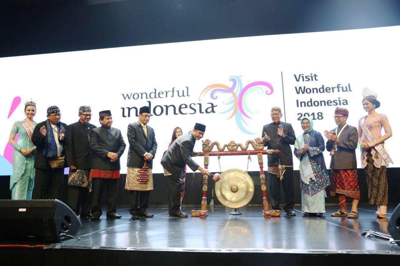 Rakornas Pariwisata Untuk Sukseskan Target Kunjungan  17 Juta Wisman 2018