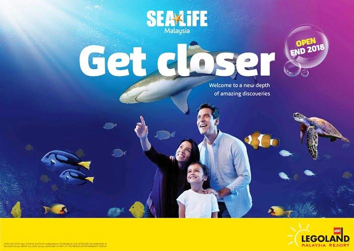 Legoland Malaysia Akan Hadirkan Sea Life di Akhir 2018