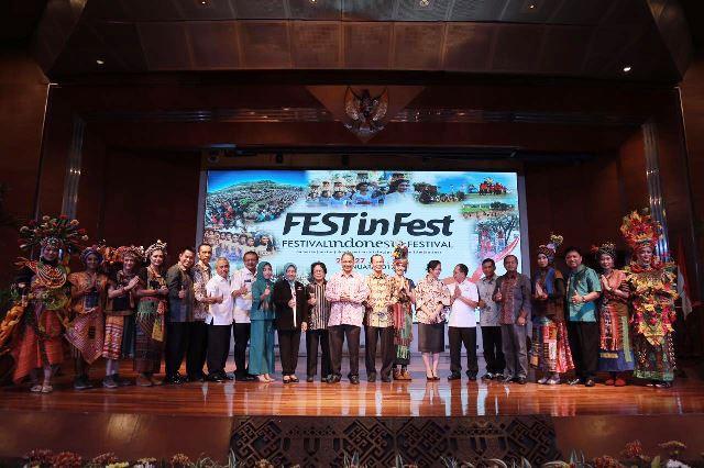 Kemenpar Gelar Festival Indonesia Festival 2018