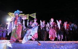 Payung Indonesia di Event Bo Sang Umbrella Festival Thailand