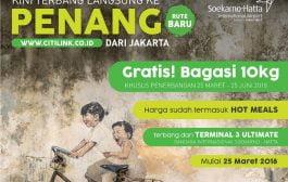 Citilink Kini Terbang Ke Penang Dari Terminal 3 Bandara Internasional Soekarno Hatta