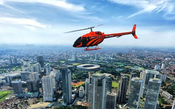 Hotel Fairmont Jakarta Luncurkan Paket Menginap dan Tur Helikopter