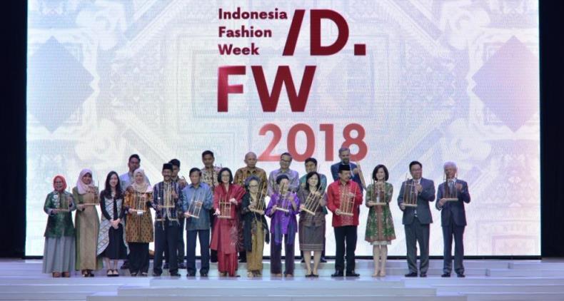 Indonesia Fashion Week 2018 Angkat Tema 3 Tempat Wisata