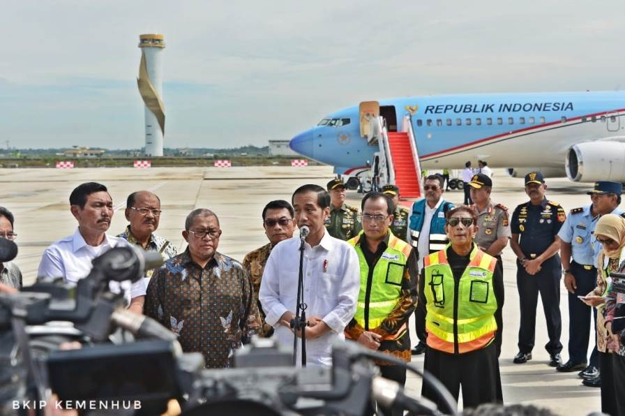 Bandara Kertajati Resmi Dibuka Presiden Jokowi