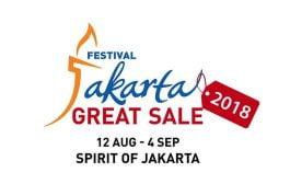 Festival Jakarta Great Sale 2018 Akan Ikut Ramaikan Asian Games 2018