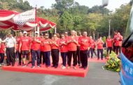 Seratus Bus Berlogo Wonderful Indonesia Menyambut Asian Games 2018