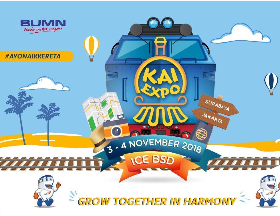 Berbagai Acara dan Atraksi Seru di KAI Expo 2018