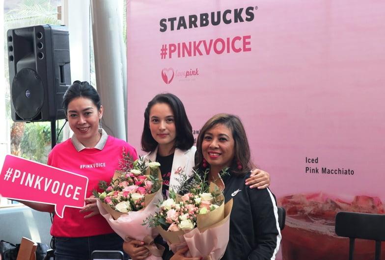 Starbucks Indonesia Kembali Kampanyekan Pinkvoice