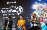 Garuda Gandeng BRI Gelar Garuda Indonesia Online Travel Fair
