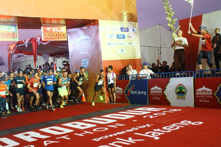 Borobudur Marathon 2018 Melepas Ribuan Pelari