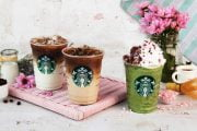 Rayakan Musim Semi Dengan Sajian Art in a Cup di Starbuck