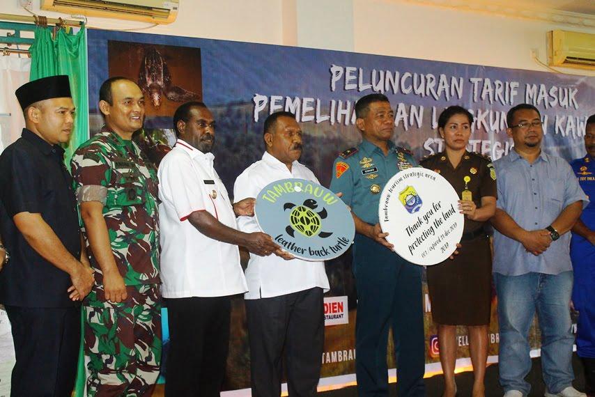 Kabupaten Tambrauw Luncurkan Pin Pariwisata
