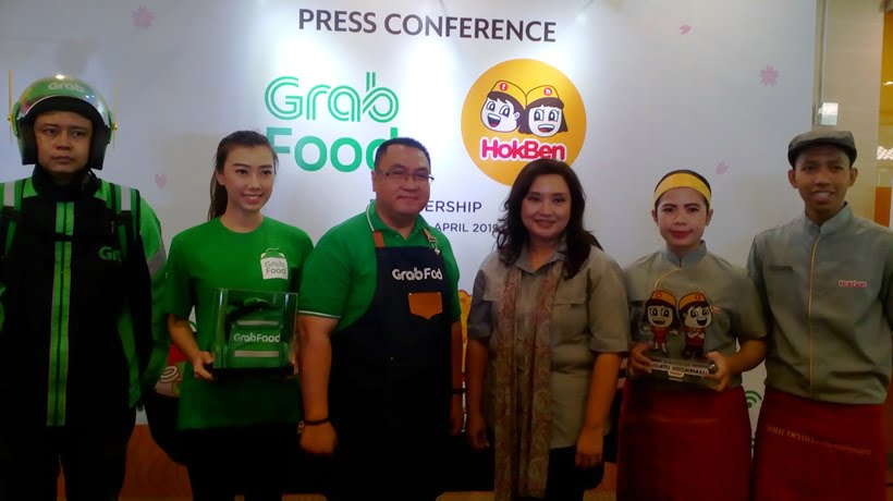 Layanan Resto Cepat Saji Jepang Terintegrasi Dengan Layanan Pesan Antar Makanan