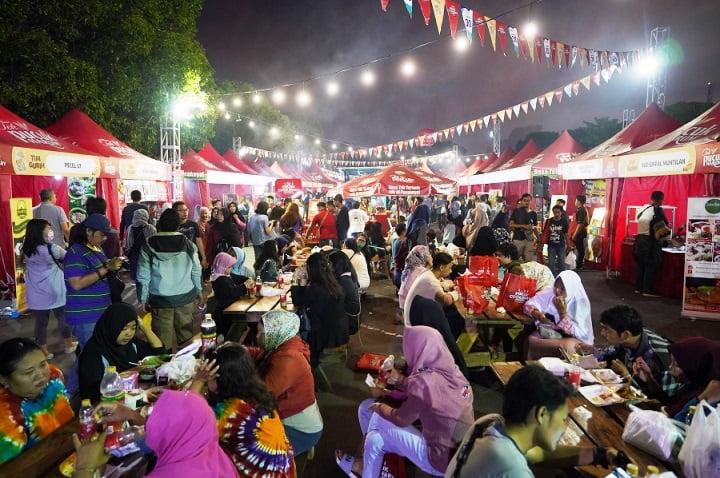 Pucuk Coolinary Festival Kenyangkan Ribuan Pecinta Kuliner di Yogyakarta