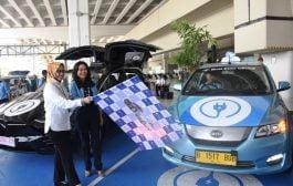Bluebird Hadirkan E-Bluebird di Bandara Soekarno Hatta