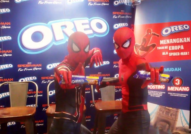 Oreo dan Spiderman Ramaikan Masa Liburan Sekolah