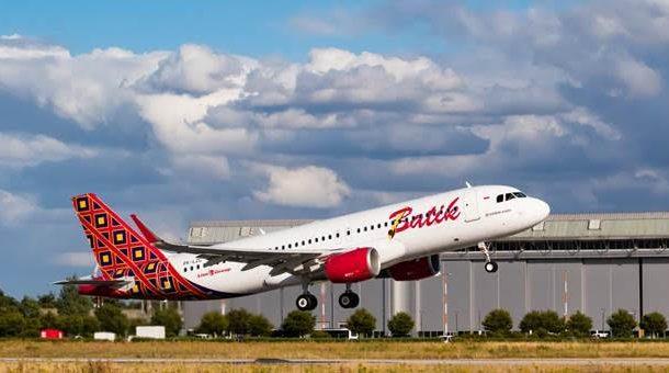 Batik Air Datangkan Pesawat Baru Airbus 320-200CEO ke-44