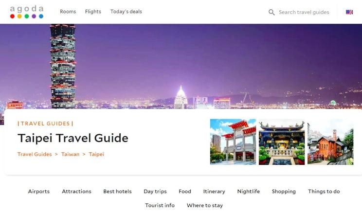 Agoda Luncurkan Menu Travel Guide  Untuk Permudah Wisatawan Bepergian