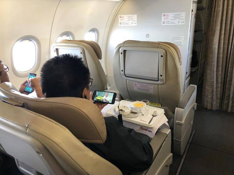 Batik Air Luncurkan Wifi Entertainment di Pesawat