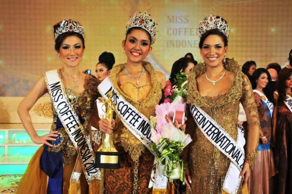 Miss Coffee Indonesia 2013 dari Sumatera Utara