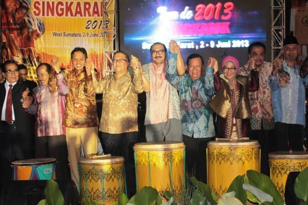 Tour De Singkarak 2013 Resmi Dibuka