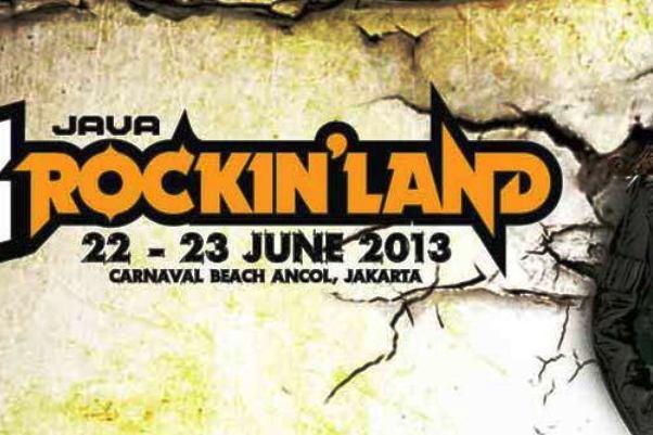 Java Rockinland Dibanjiri Group Rock Dalam dan Luar Negeri
