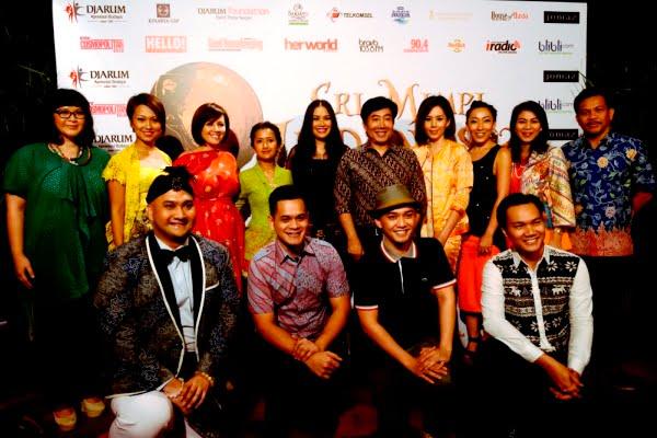 Sri Mimpi Indonesia, Pertunjukkan dari Lagu-lagu Gubahan Guruh Soekarno Poetra