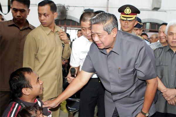 Presiden RI Dan Wakil Presiden RI Tinjau Stasiun Pasar Senen
