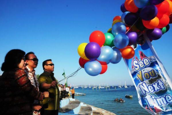 Menko Kesra Lepas Sail Komodo 2013
