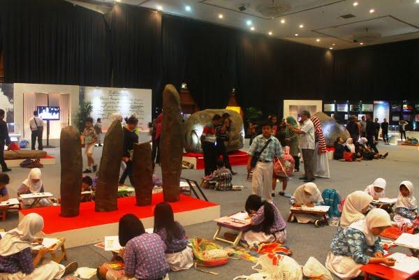 Jejak Peradaban Indonesia Dipamerkan di JCC