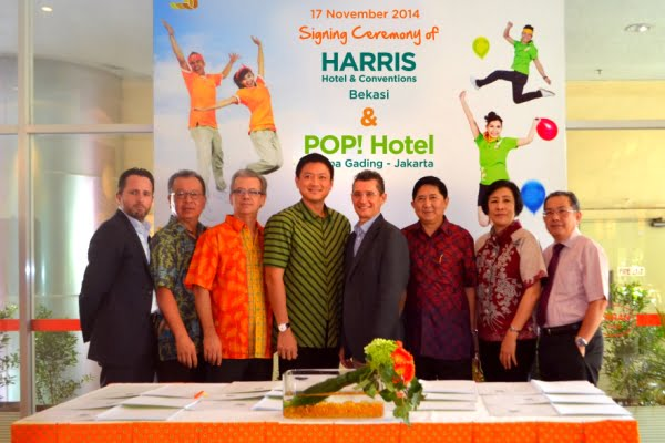 Tauzia dan Summarecon Buka POP! Hotel Kelapa Gading dan HARRIS Hotel & Conventions Bekasi